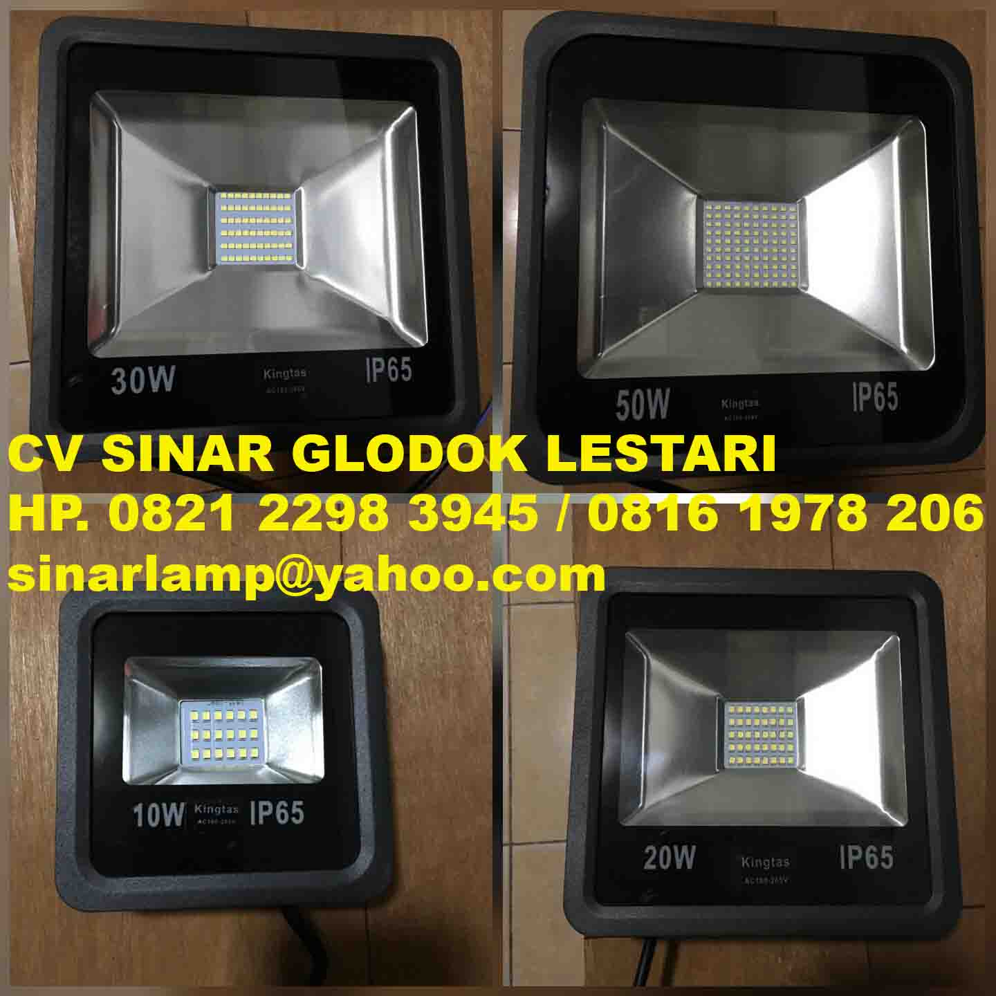 Lampu sorot led Kingtas