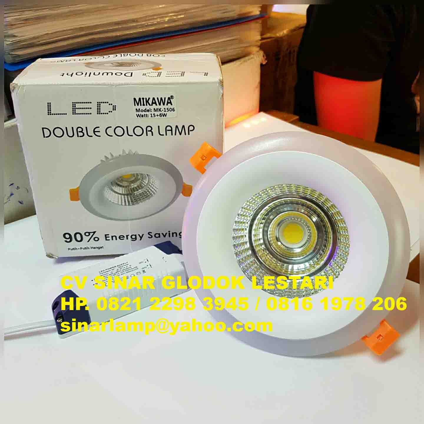 Downlight LED Double Color Lamp 15+6W Mikawa