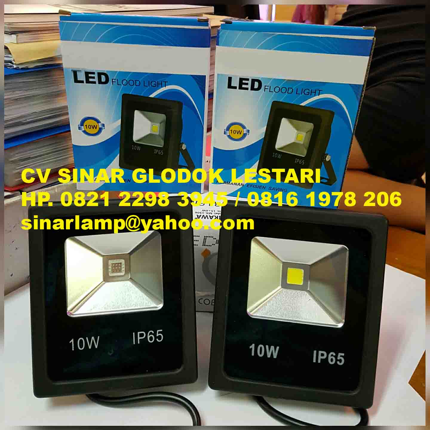 Lampu Sorot LED 10W IP65 Strong Black Color