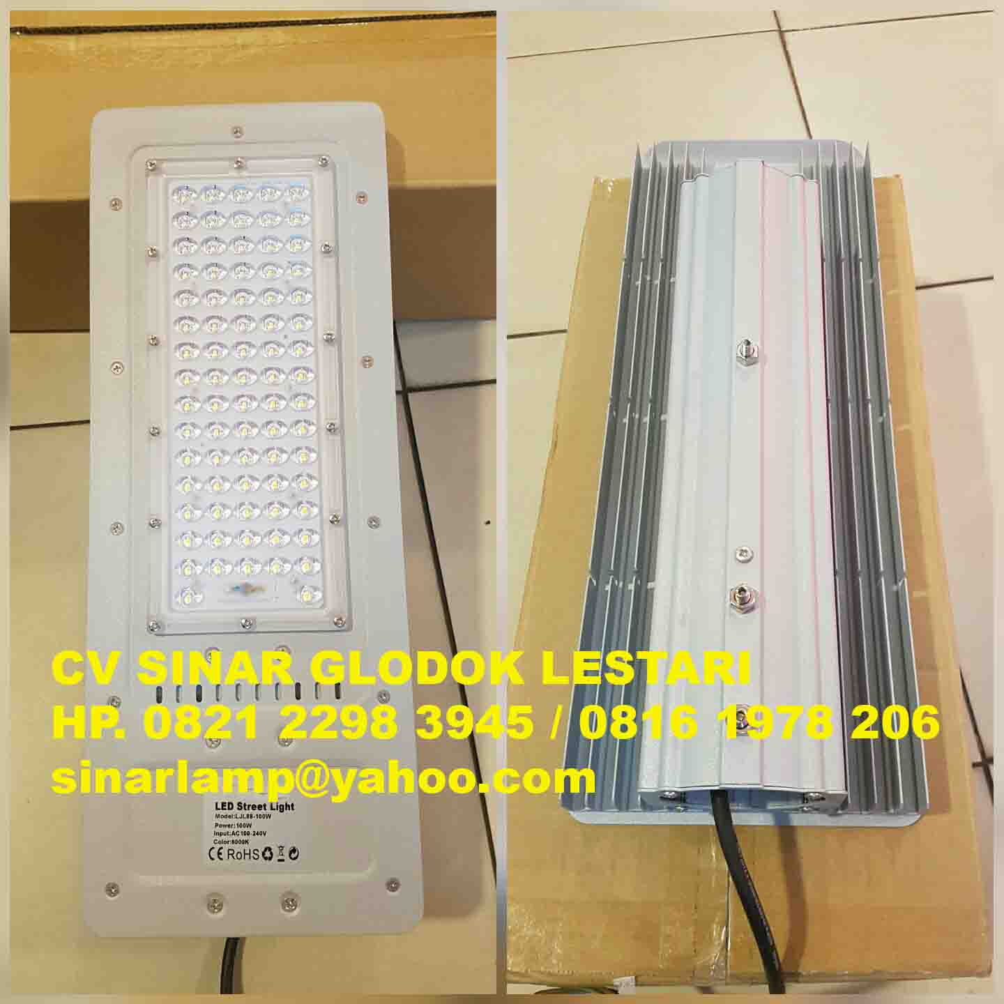 Lampu Jalan Led 100 watt High Power