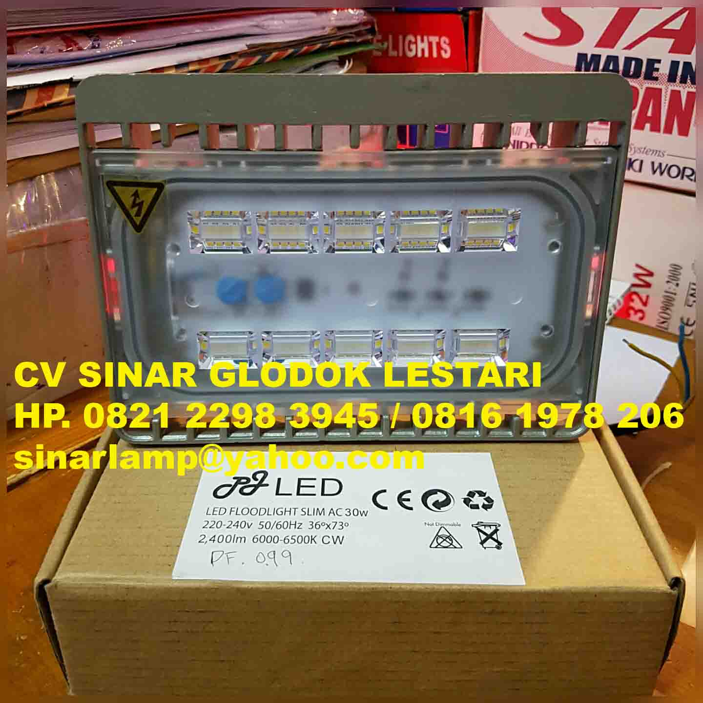 Lampu sorot led 30 watt PJ Led