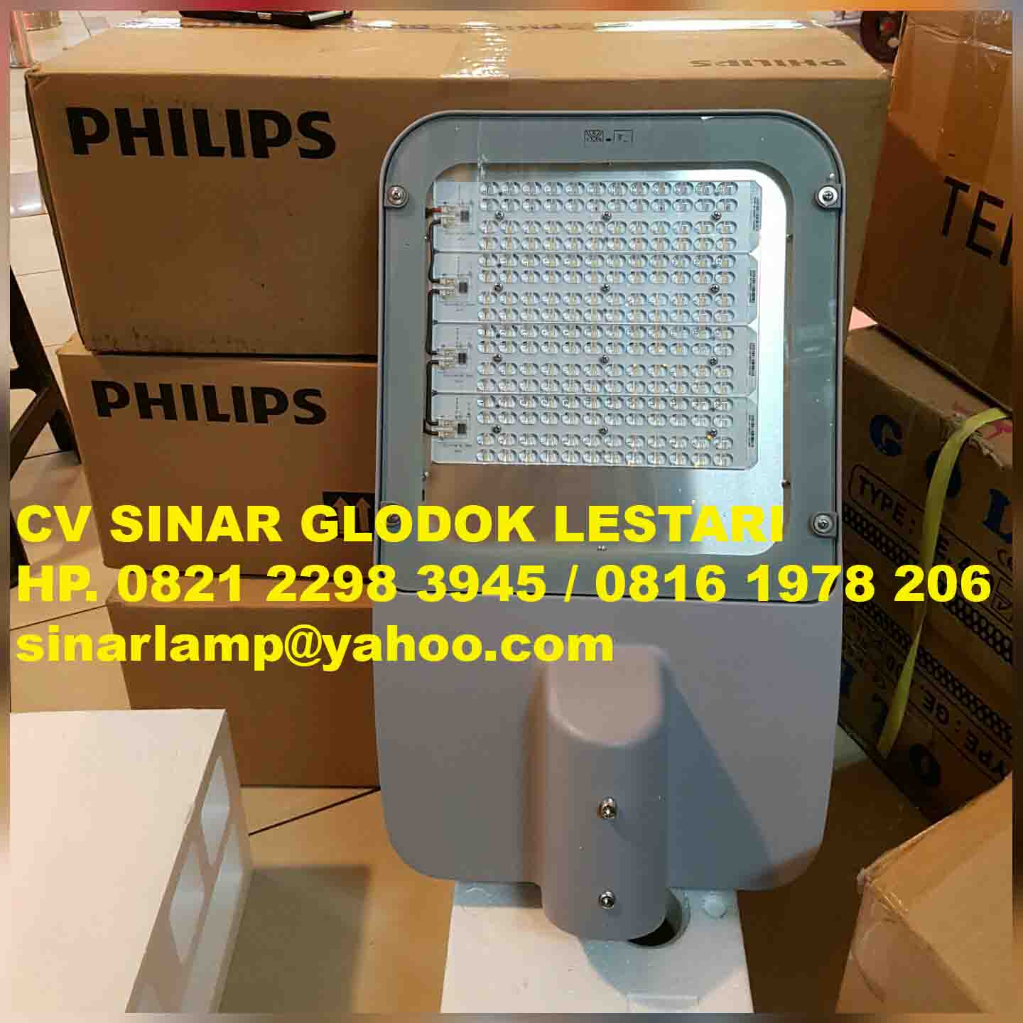 Lampu PJU LED BRP372 120W Philips