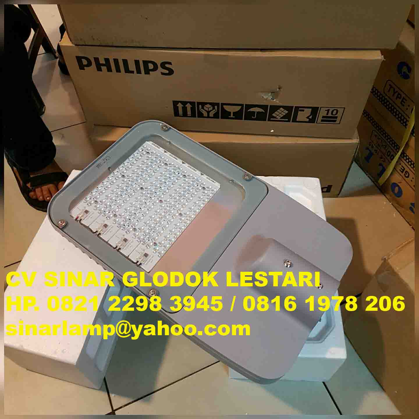 Lampu Jalan LED Philips 120W BRP372