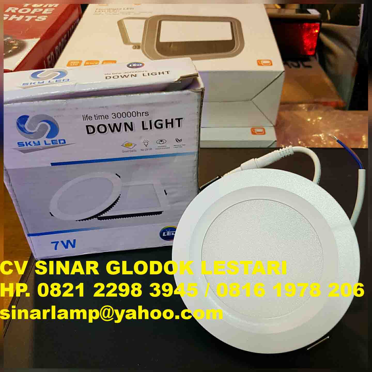 Downlight LED 7 watt Sky LED