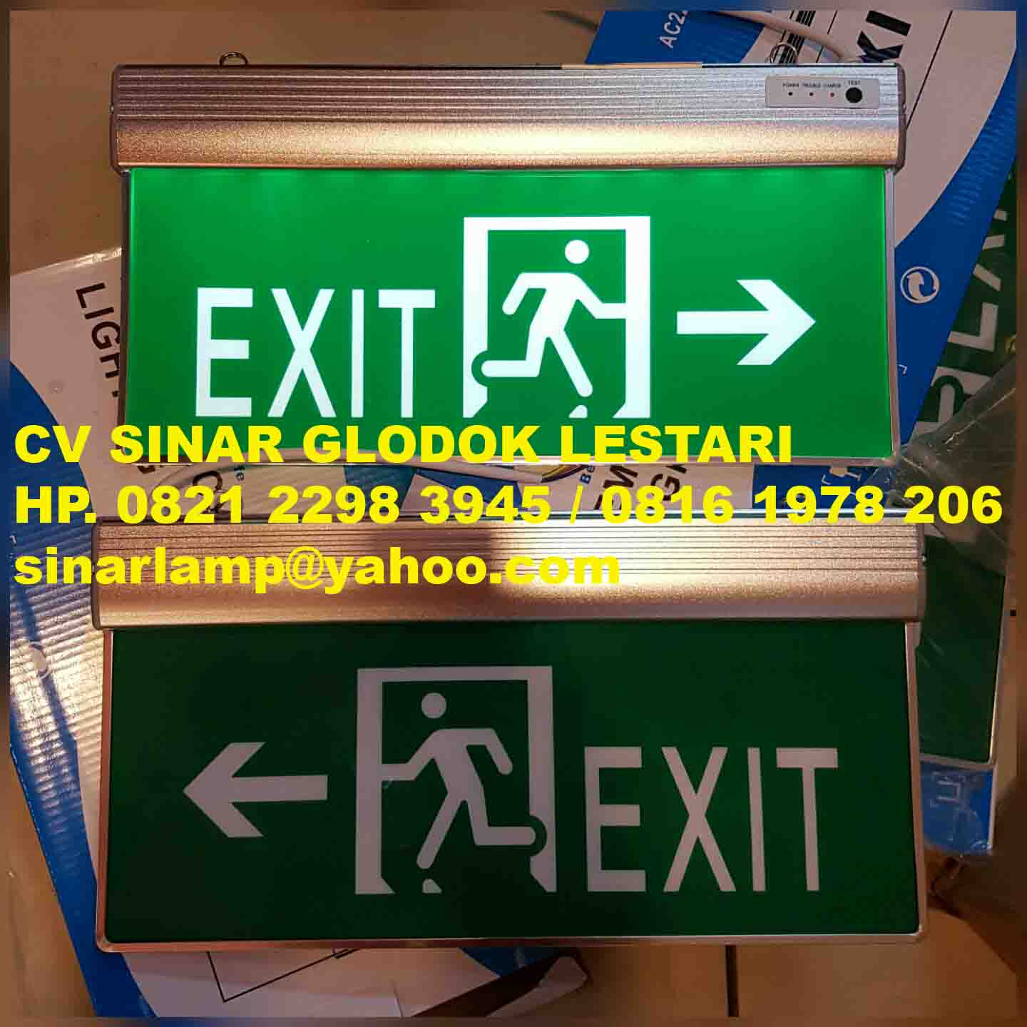 Lampu Emergency Exit LED A10