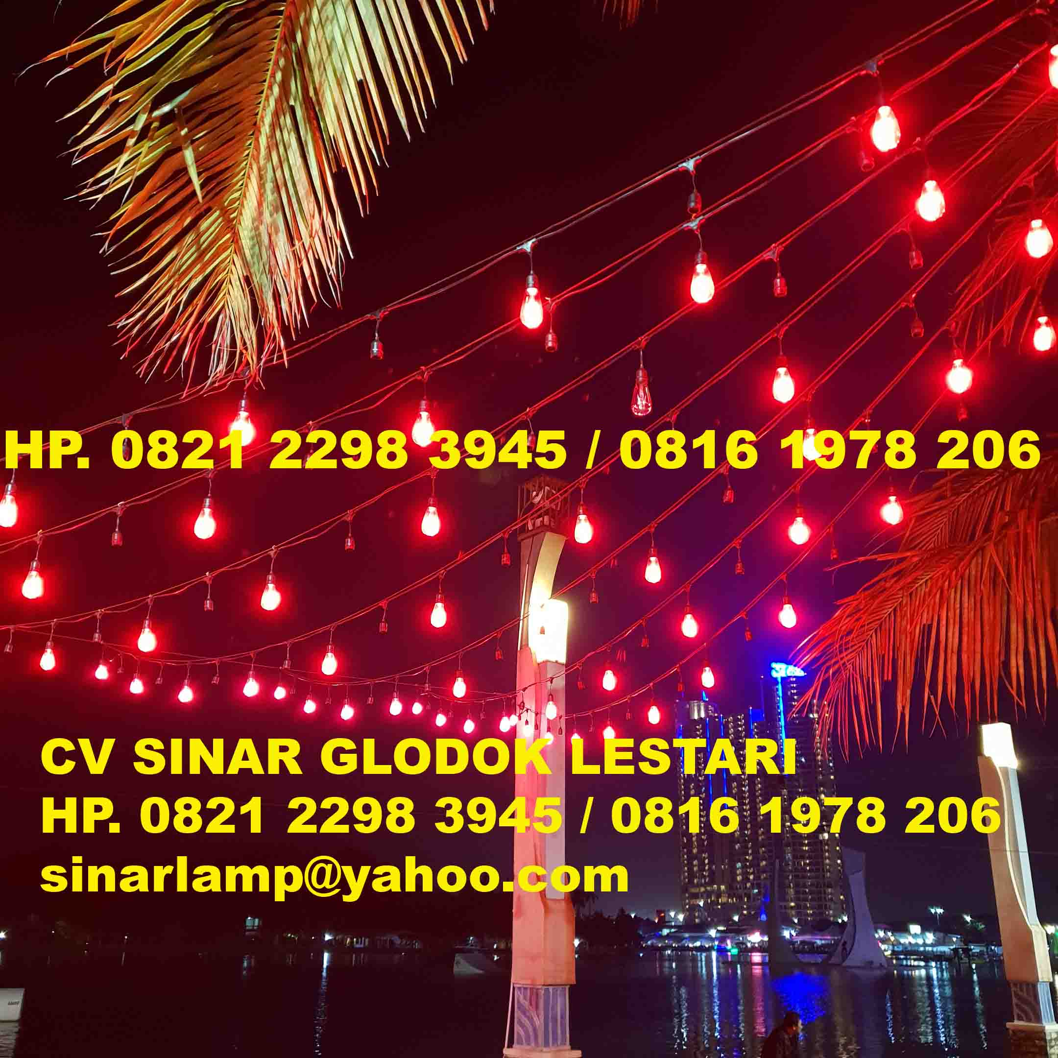 Fitting Lampu Gantung Hias Dekorasi Outdoor E27