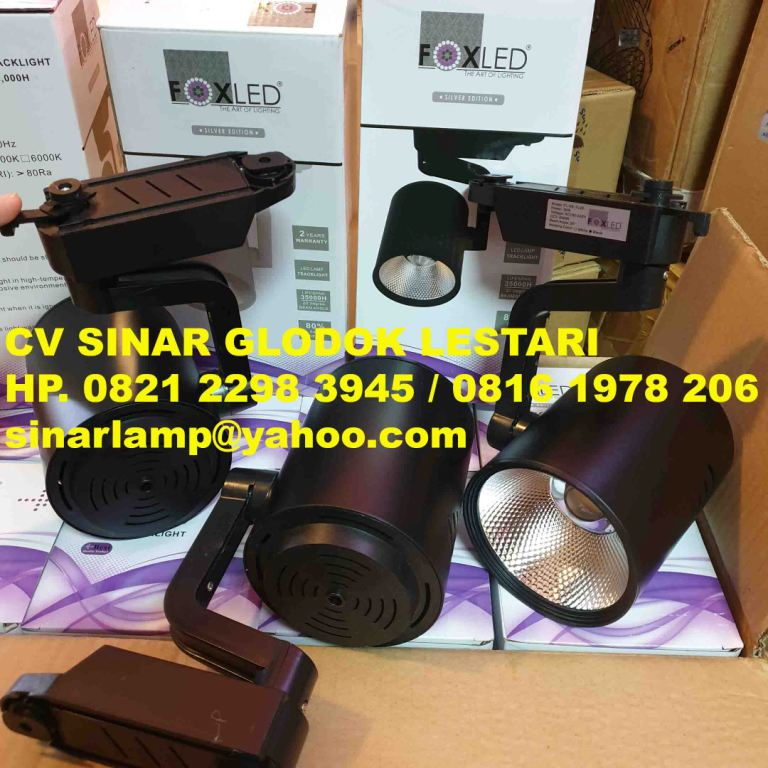 Lampu Sorot LED Track Light 30W FOXLED
