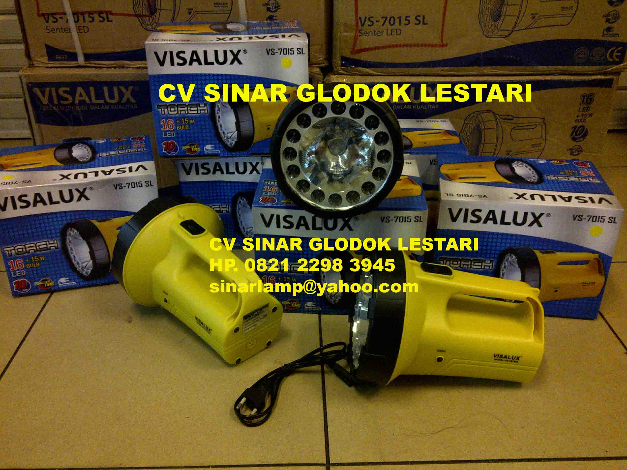 Senter Rechargeable VS 7015 SL VISALUX