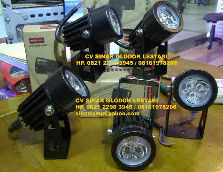 Lampu Sorot LED 3W Mini Henseki