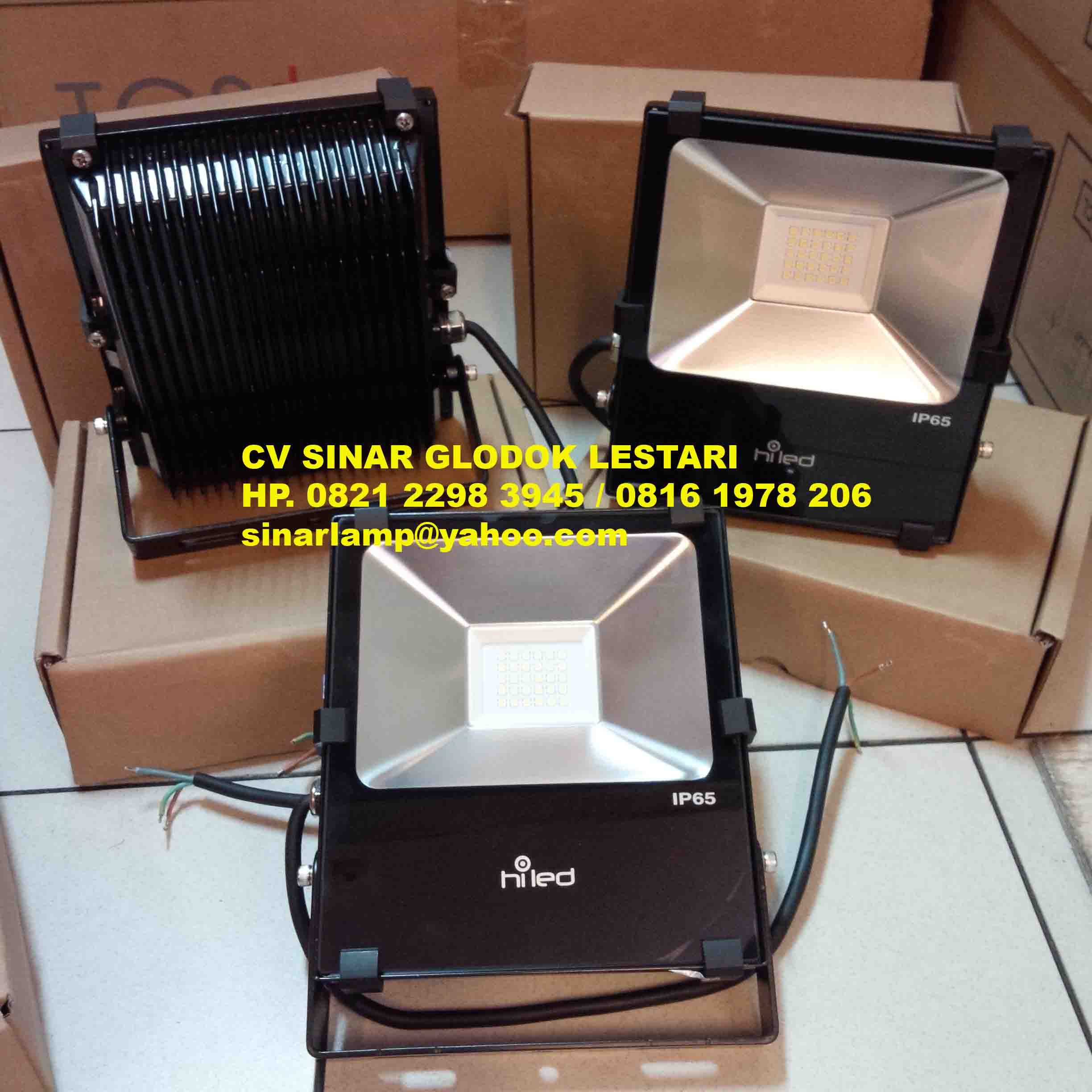 Lampu Sorot Led 30 watt HiLed