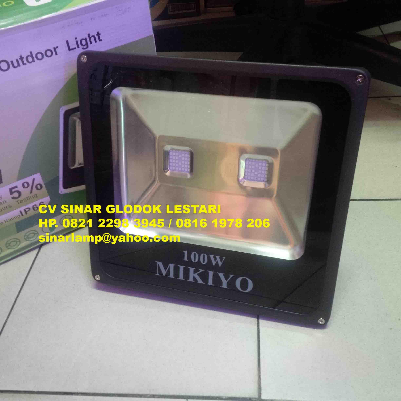 Lampu Sorot Led 100w 50w Atau 50 W Watt Smd Floodlight Tembak 100 Samsung