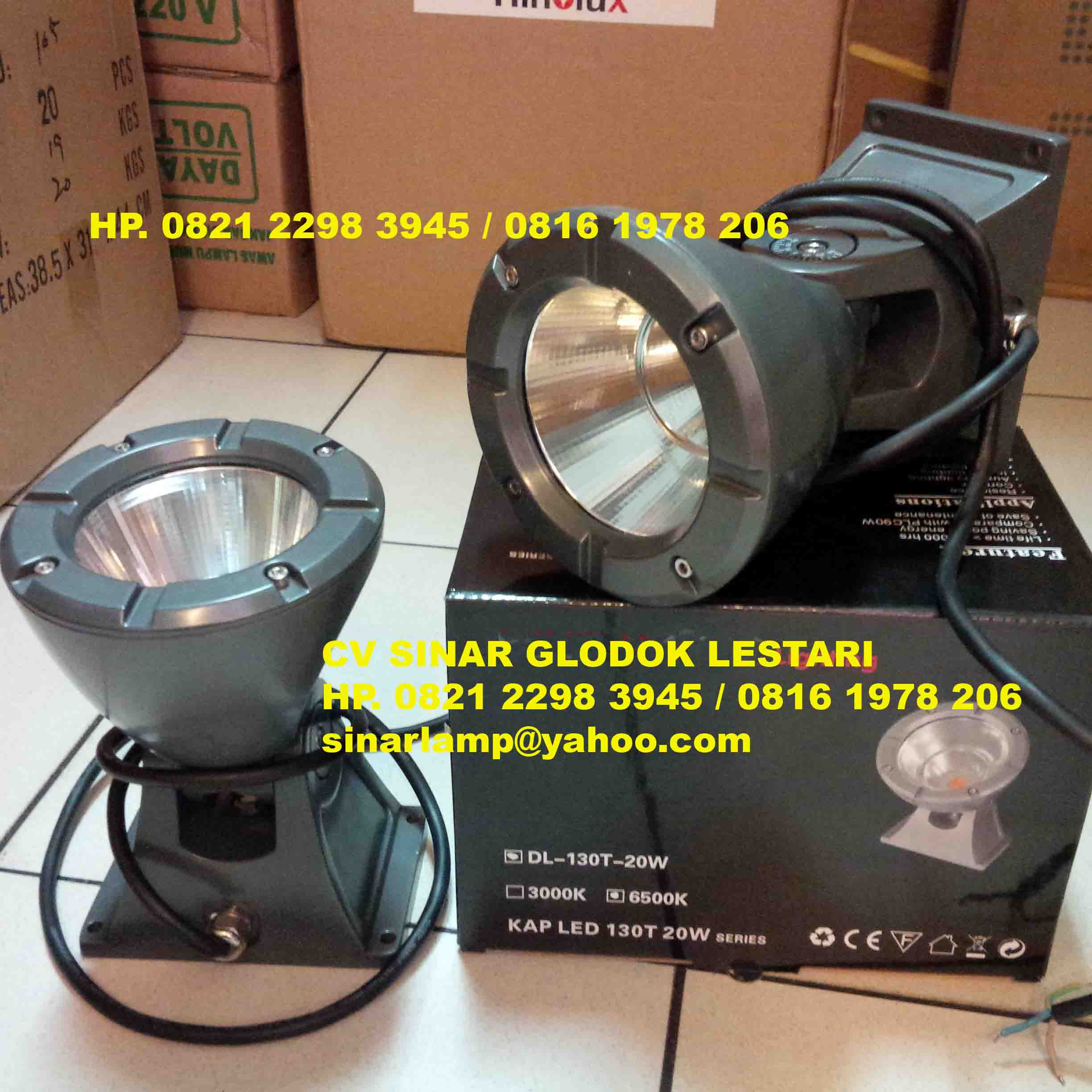 Lampu Sorot Pilar 100m COB LED Flood Light