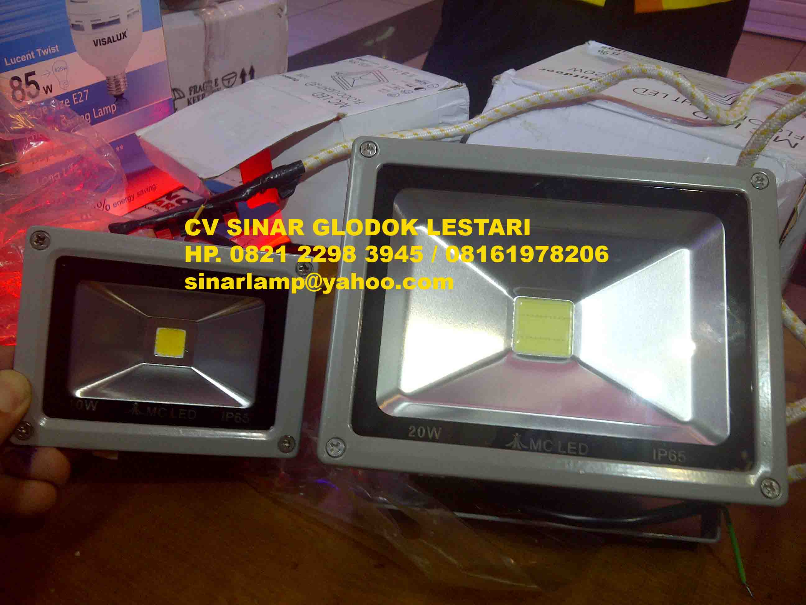 Lampu Sorot Led 20 watt MC LED
