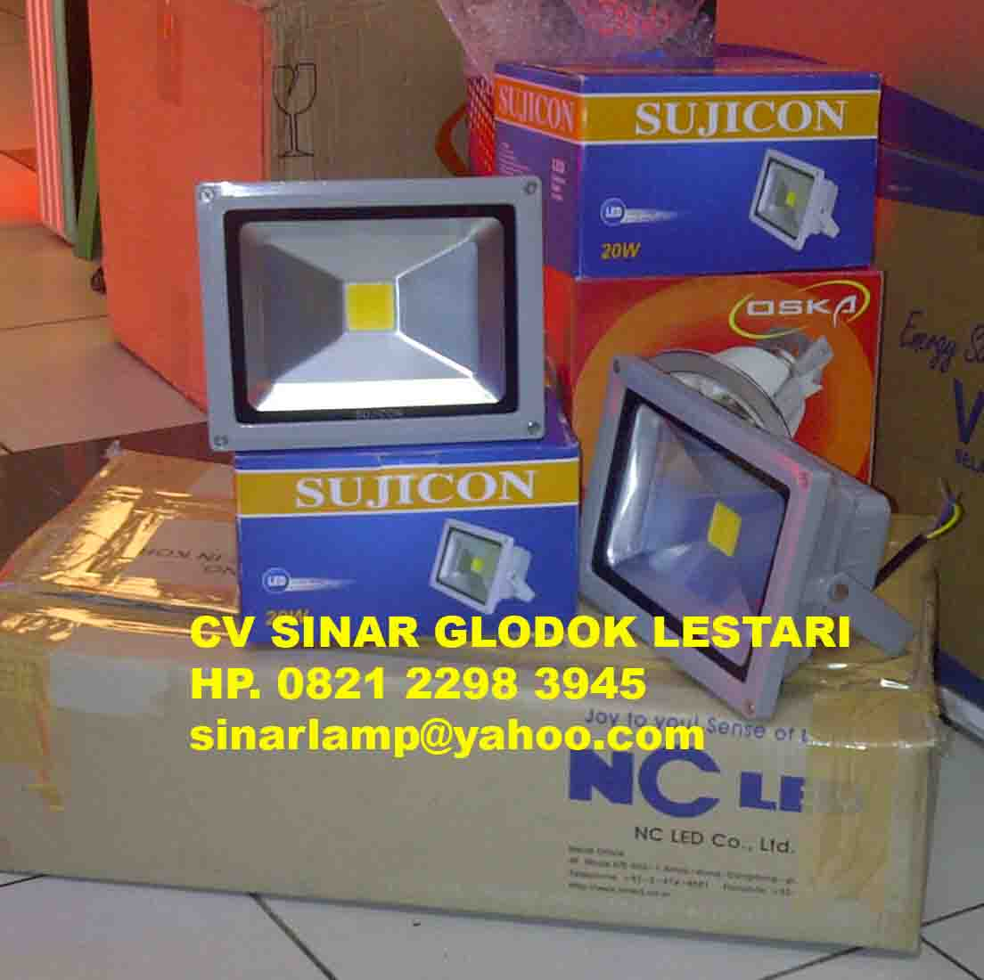 Lampu Sorot LED 20W SUJICON