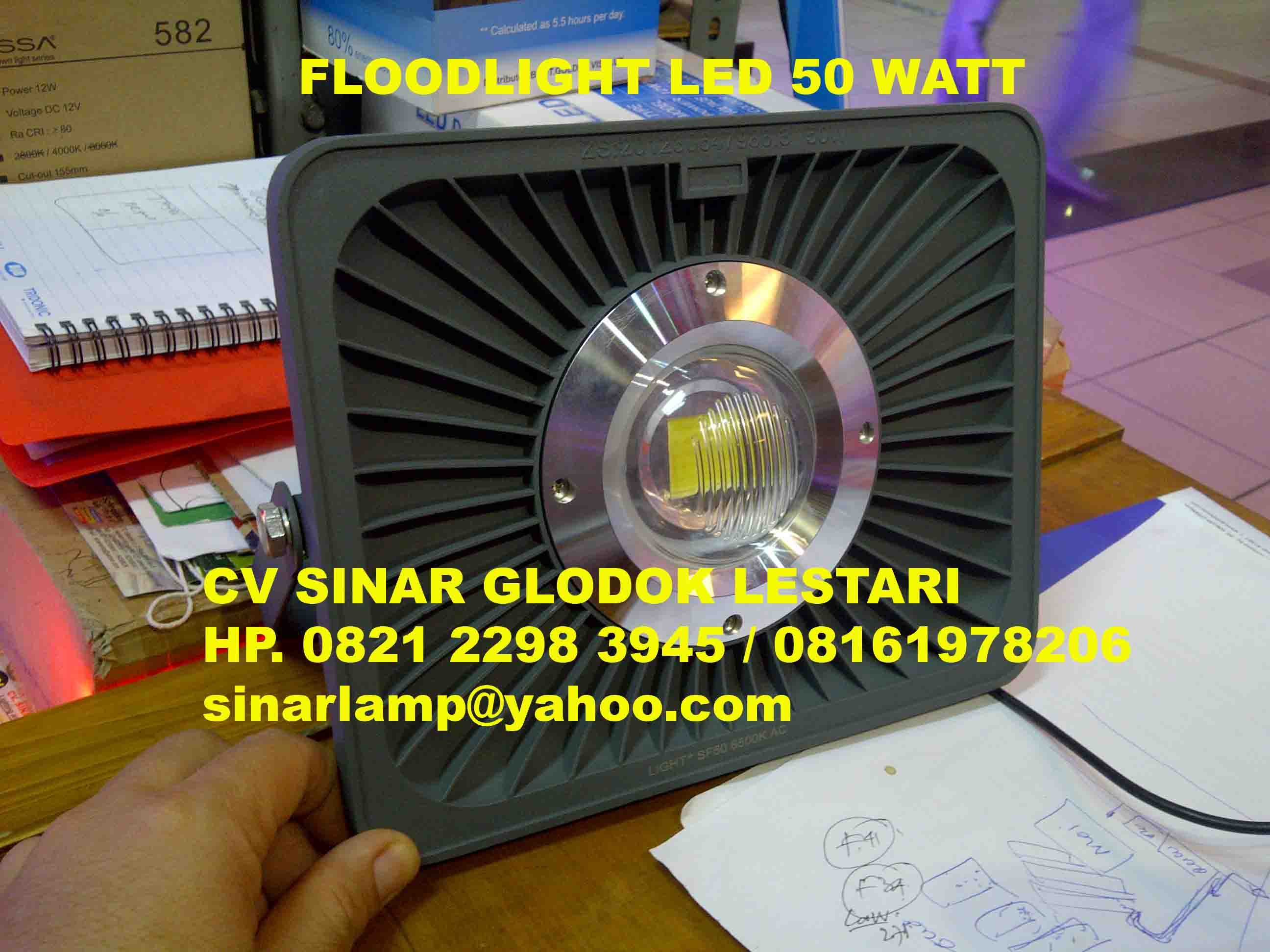 Lampu Sorot LED Spider 50 watt