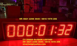 Lampu Timer Up Stopwatch