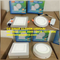 Lampu Downlight LED 2 warna 6W+3W