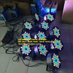 Lampu PAR LED RGB 42 x 2 watt