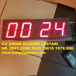 Lampu Display Timer Stopwatch