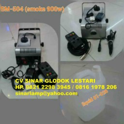 Smoke machine mesin asap fog machine 900w SM504