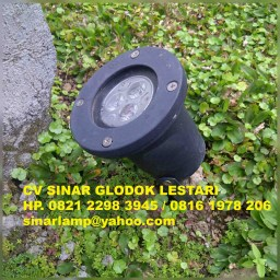 Lampu sorot taman outdoor led 3 watt