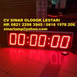 Lampu LED Timer UP Stopwatch