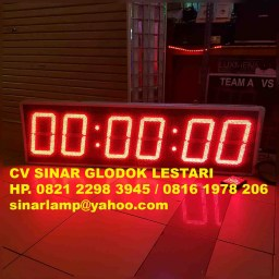 Lampu led display timer 3in1