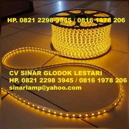 Lampu LED Strip SMD5050 Yellow 100 meter
