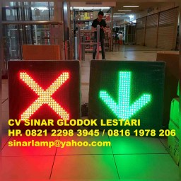 Lampu LED Cross Arrow 60cm x 60cm