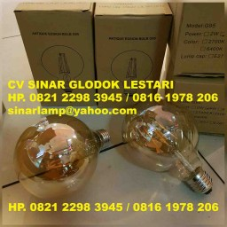 Lampu Vintage Edison Decorative Light Bulb
