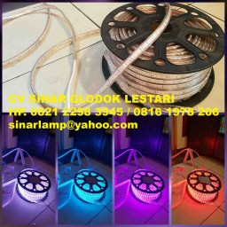 Lampu Hias Led Strip 5050 RGB 50meter