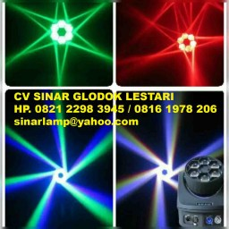 Lampu Panggung Beam Six Bee Eye