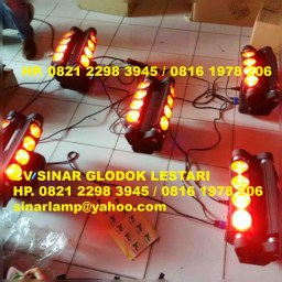 Moving Beam Spider Led Rgbw