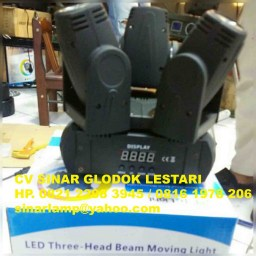 LED Three Moving Head Beam Light