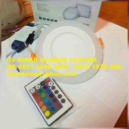 Downlight LED Double Color RGB + Remote