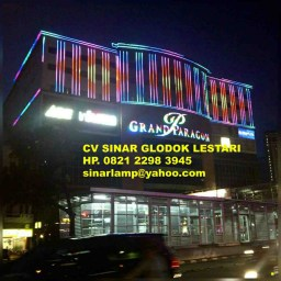 Lampu LED Dekorasi Gedung Color Outline