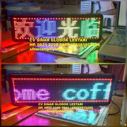 Moving Sign LED Running Text