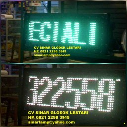 Lampu LED Display Running Text