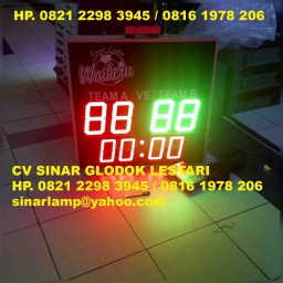 Olahraga LED Display Futsal