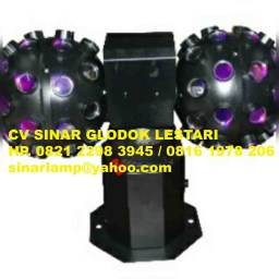 Lampu Disco Two Ball Swing