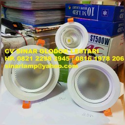 Downlight LED Adjustable Frosted 30W 20W dan 10W