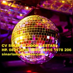 Lampu Disco Mirror Ball DJ Ball