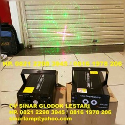 Lampu Laser Panggung 2 warna Red Green
