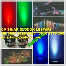 Lampu Sorot LED Outdoor RGBW 354