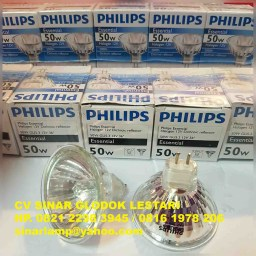 Lampu Halogen Philips 12V 50w Dichroic Reflector