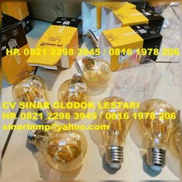 Lampu Bohlam Edison LED Filament 4 watt