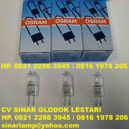 Lampu Halogen Osram 64250 6V 20W Microscope Light Bulbs
