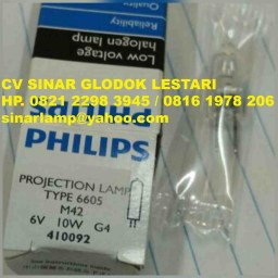 Lampu Halogen 6V 10W Philips Type 6605