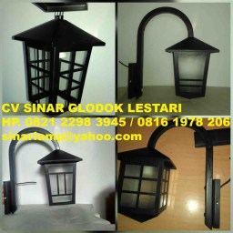 Lampu Pilar Outdoor