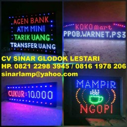 Lampu Display LED Board